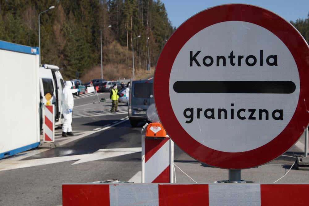 При въезде в Польшу больше не нужно заполнять карантинных карточек